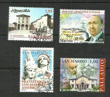 Saint-Marin N°2120, 2129, 2135, 2141 - San Marino