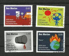 Saint-Marin N°2121 à 2124 - San Marino