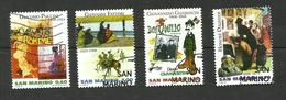Saint-Marin N°2144 à 2147 - Oblitérés