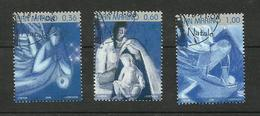 Saint-Marin N°2148 à 2150 - Oblitérés