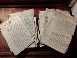 Lot  De  Plus  De  1240 Grammes  De  Documents   De  1643  à  Napoléon III - Documents Historiques