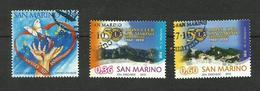 Saint-Marin N°2214, 2236, 2237 - Saint-Marin