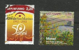 Saint-Marin N°2258, 2263 - Saint-Marin