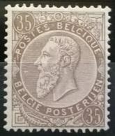 Belgium OBP 49 - MNH** - 1884-1891 Leopold II.