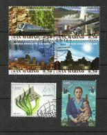 Saint-Marin N°2309 à 2312, 2323, 2336 - Saint-Marin