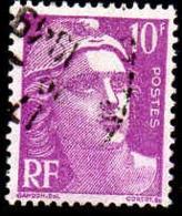 France Poste Obl Yv: 811 Mi:803 Marianne De Gandon (cachet Rond) - Francia