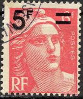 France Poste Obl Yv: 827 Mi:833 Marianne De Gandon (Beau Cachet Rond) - Francia