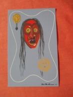 Eastern Woodland Indians  Iroquois Mask   Ref  3870 - Indiens De L'Amerique Du Nord