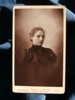 Photo CDV  Bellingard à Lyon  Portrait Jeune Fille  CA 1895 - L481H - Photographs