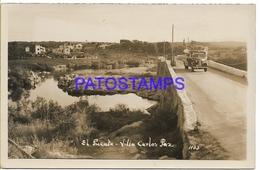 128915 ARGENTINA CORDOBA VILLA CARLOS PAZ EL PUENTE BRIDGE PHOTO NO POSTAL POSTCARD - Argentina