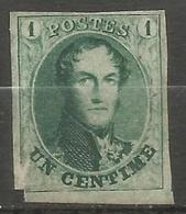 Belgique - Médaillons - N°9 (*) - 1858-1862 Medallions (9/12)