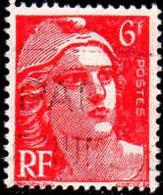 France Poste Obl Yv: 721A Mi:801 Marianne De Gandon (Belle Obl.mécanique) - Francia
