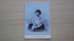 FOTO CARTONATA GRANDE FOTOGRAFO FETTEL & BERNARD ALEXANDRIE ALESSANDRIA EGYPTE EGITTO MISURA CM. 16 X 11 - Antiche (ante 1900)