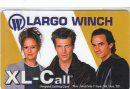 XL-Call, Largo Winch, Mint In Blister, 2000ex - [2] Prepaid & Refill Cards