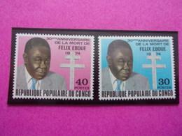Congo 30 Anniversaire De La Mort De Félix Eboue - Ungebraucht