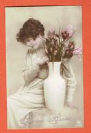 187 P2 - Bonne Année - Brussel 1 Sur OC 13 Le 31-XII-1917 - Collection Rph 5747/6 - Guerre 14-18