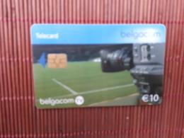 Phonecard Football Camera 10 Euro  Used Rare - Avec Puce