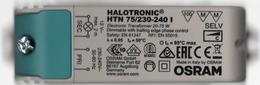 Transformateur OSRAM 220-240V 12V Halotronic HTN75/230-240 I - Componenti