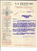 Haute Garonne 31 Toulouse La Depeche Journal De La Democratie 1914 - 1900 – 1949