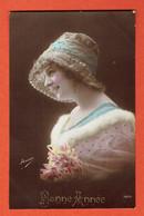 187 P2 - Bonne Année - Brussel1Bruxelles Sur OC 2 Le 31-XII-1915 - Collection Irisa 3008 - Guerre 14-18