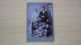 FOTO CARTONATA GRANDE FOTOGRAFO BAKER Břeclav REPUBBLICA CECA CEKA  MISURA CM. 16 X 11 - Old (before 1900)