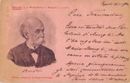4471 02 LUCERA MONUMENTO A BONGHI  Napoli,1826 – Torre Del Greco, 1895 FILOLOGO ACCADEMICO POLITICO - Persönlichkeiten