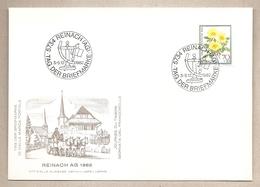 Svizzera - Busta Con Annullo Speciale: Giornata Del Francobollo - 1982 - Storia Postale