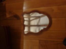 Miroir Ancien 38x32cm - Art Populaire