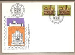 Svizzera - Busta Con Annullo Speciale: Giornata Del Francobollo - 1983 - Storia Postale