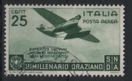 1936 Bimillenario Oraziano Orazio US - Usati