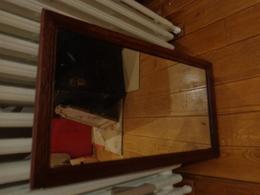 Miroir Ancien 38x66cm - Art Populaire