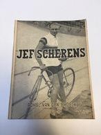 BOEK 1948 JEF SCHERENS ACHIEL VAN DEN BROECK PICOCHE PARIS DE CARUSO UIT DE SPRINTERSWERELD SPORT WIELRENNEN CYCLISME - Livres, BD, Revues
