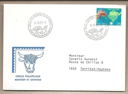 Svizzera - Busta Viaggiata - 1989 - Storia Postale