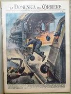La Domenica Del Corriere 15 Giugno 1952 Pauker Lincoln Ferrario Pulcinella Razzi - Libri, Riviste, Fumetti