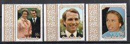 COOK ISLANDS - ILES COOK - 1973 - MARIAGE - WEDDING - PRINCESSE ANNE - PRINCESS ANN - MARK PHILLIPS - - Cook