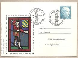Svizzera - Cartolina Con Annullo Speciale: Giornata Del Francobollo - 1964 - Suisse