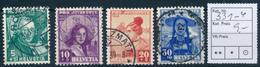 SCHWEIZ / SUISSE  -  1938  ,  Pro Juventute - Oblitérés