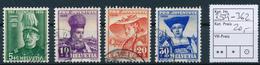 SCHWEIZ / SUISSE  -  1939  ,  Pro Juventute - Oblitérés