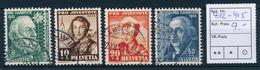 SCHWEIZ / SUISSE  -  1942  ,  Pro Juventute - Oblitérés