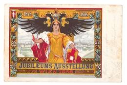 CPA ART NOUVEAU WIEN 1898 JUBILAEUM AUSSTELLUNG - Illustrateurs & Photographes