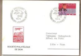 Svizzera - Cartolina Con Annullo Speciale: Giornata Dell' UPU - 1974 - Suisse