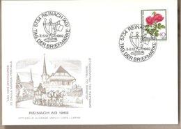 Svizzera - Cartolina Con Annullo Speciale: Giornata Del Francobollo - 1982 - Storia Postale