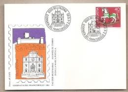 Svizzera - Cartolina Con Annullo Speciale: Giornata Del Francobollo - 1983 - Storia Postale