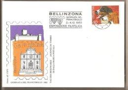 Svizzera - Cartolina Con Annullo Speciale: Giornata Del Francobollo - 1983 - Suisse