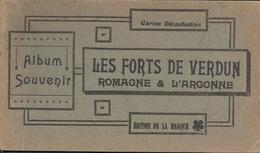 20 CPA Carnet Complet Des Forts Entourant La Ville De Verdun Romagne à L'Argonne - Verdun
