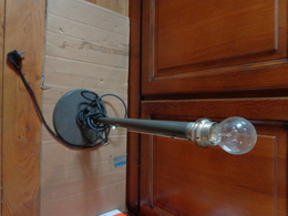 Lampe De Bureau En Metal SANS OPALINE - Andere Verzamelingen