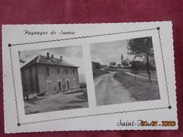 CPSM - Saint-Franc - La Mairie - L'Eglise - Autres Communes