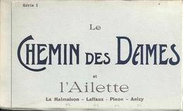 20 CPA Carnet Complet Le Chemin Des Dames Et L'Ailette - Laon