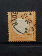 Deutsche Reich Brustschild Mi-Nr.18 Gestempelt - Gebraucht