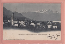OLD POSTCARD - SWITZERLAND - SUISSE -   SACHSELN  1900'S - OW Obwald